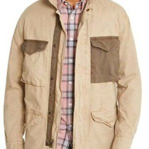NWT American Rag Men's Beverly Field Jacket Beige